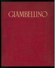 MOSCHINI VITTORIO GIAMBELLINO IST. IT. D'ARTI GRAFICHE 1943 PITTURA RINASCIMENTO