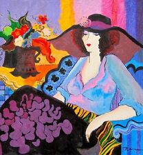 Patricia Govezensky- Noa | Hand Signed and Numbered Serigraph on Silk Screen Art