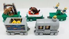 McDonald's 2017 HOLIDAY EXPRESS ~ JURASSIC MINIONS PETS TRANSFORMERS ~ Lot of 5