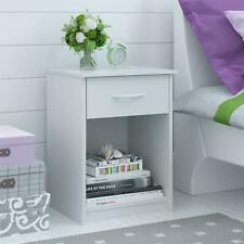 Mainstays Classic Nightstand with Drawer, White