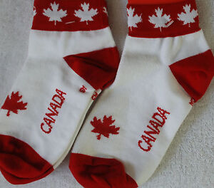CANADA TEAM CYCLING SOCKS BRAND NEW ***