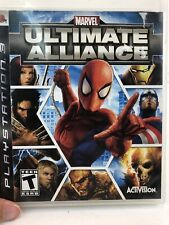 Marvel Ultimate Alliance (PlayStation 3 - PS3) Video Game