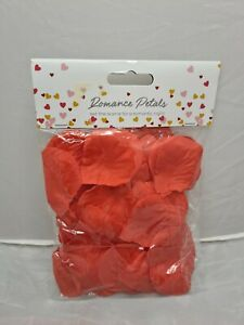 New Bag Of Paper/Plastic Red Romance Rose Petals