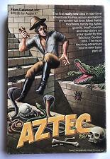 Aztec - Apple II - DATAMOST - Complete - (1982) Very Good Condition