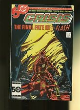 Crisis on Infinite Earths 8 NM 9.4 *1 Book* DC Comics! 1985! The Flash Dies!
