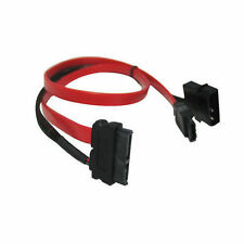 GC24SATA67 24inch  6Gbps Slim SATA (7+6 pins) & SATA Power Combo Cable