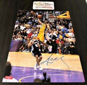 Kobe Bryant Dunking Signed 8x10 Certified Photo Autograph Los Angeles Lakers
