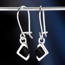 Onyx Silber 925 Ohrringe Damen Schmuck Sterlingsilber H583