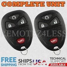 2 For 2006 2007 2008 2009 2010 2011 Chevrolet HHR 4b Keyless Entry Remote Fob