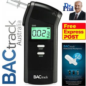 Breathalyser. Alcohol Breath Tester. BACtrack S80 Pro / XTEND® POLICE FUEL CELL