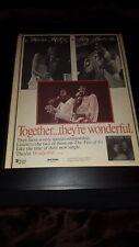 Marylin McCoo Billy Davis, Jr. Wonderful Rare Original Promo Poster Ad Framed!