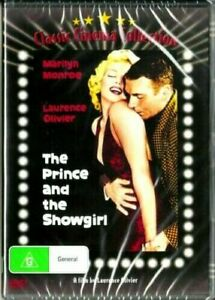 The Prince And The Showgirl DVD Marilyn Monroe New and Sealed Australia