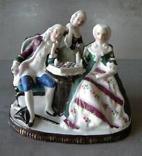 Antique CONTA BOEHME German Porcelain Figurines Concealed Inkwell - Cover Only