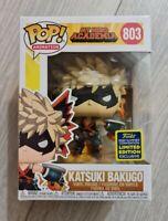 KATSUKI BAKUGO SDCC 2020 CONVENTION EXC FUNKO POP MY HERO ACADEMIA 803