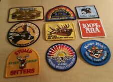 Ithacagun Wildlife Fed American Heritage Ranger Ricks NRA Stump Sitters Patches