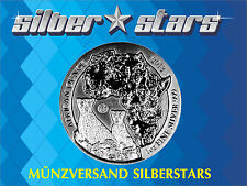 1 OZ  Unze Silber Ruanda Gepard  Cheetah 2013  Privy Mark Fabulous F15 in Kapsel