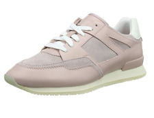 Hugo Boss Women's Adrenne Leather  trainers Sneakers Pink UK4