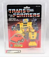 Transformers Original G1 AFA 85 Minibot Bumblebee Yellow MOSC 80/90/90