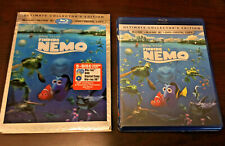 New listing Finding Nemo 3D (Blu-ray 3D+Blu-ray+Dvd, 2012) New with Oop Lenticular Slipcover