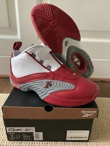 REEBOK CLASSIC ANSWER 4 IV 2021 ALLEN IVERSON RED WHITE GREY FY9690 US 10