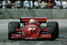 """Formula 1 driver ARTURO MERZARIO hand signed photo autograph 12x8 """"AO"""