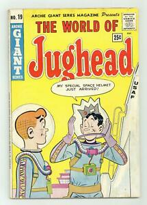 Archie Giant Series #19 VG+ 4.5 1962