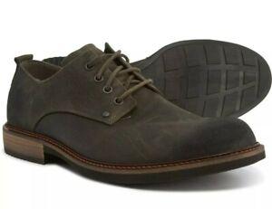 ECCO Kenton Plain Toe Oxford Tie Shoes 512134 05543 Tarmac EU 46 Men's 12 - 12.5