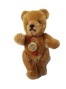 "Vintage Hermann Teddy Bear Germany 5"" Tall"