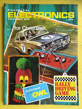 PRACTICAL ELECTRONICS - Magazine - December 1972 - Rally Driving Game