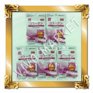 Japan DAISO Collagen Supplement 15days (30tablets) × 5pacs FS