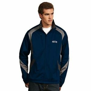 "NWT Seattle Seahawks ""Tempest"" Desert Dry Xtra-Lite Performance Jacket Mens XL"