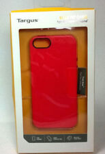 Targus Slim Fit Case for iPhone 5 - Poppy Red - True Grip Rubber Edge - New