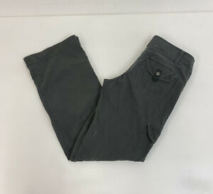 Kuhl Mountain Culture Cargo Trousers Grey W32 L31 Ladies
