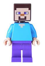 LEGO Minecraft Steve Minifigura (mine009) NUEVO MINIFIGURA NEW