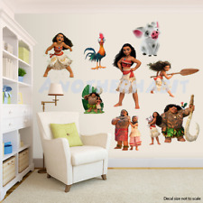 Moana Decor -  Wall Decal Removable Sticker