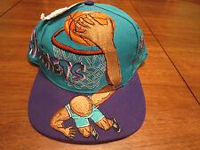 NEW Charlotte Hornet NBA Slam Dunk Vintage Snapback Hat Cap Snapback RARE