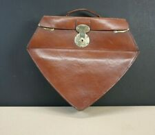 Very Unusual English Leather Carry Case