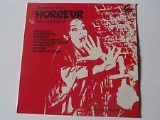 33 TOURS MUSIQUES DE FILMS D'HORREUR ET CATASTROPHES 1975 EMI MP 201