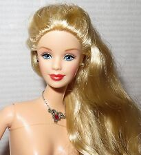 (S-50) NUDE BARBIE ~BLONDE BLUE EYES MACKIE HOLIDAY MATTEL FASHION DOLL FOR OOAK