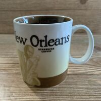Starbucks Collectors Series New Orleans Mug 2008 Saxophone Jazz 16 oz Coffee Cup