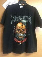 Vintage Metallica 2004 Met Club Black T Shirt Men's Size Xl Smoke Free