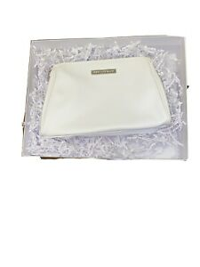 Rodan + Fields White Cosmetic Bag 9X6 Inches. The Bag Is Empty.