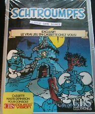 NEW SEALED SCHTROUMPFS SMURF Rescue in Gargamels Castle Colecovision  FRENCH Ver