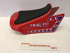 FANTIC 240 asiento unidad Twin Shock/bicicleta de ensayos FANTIC