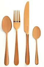 Viners Exclusive Rose Gold 16 Piece 18/10 Stainless Steel Luxury Cutlery Set
