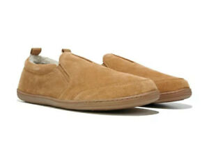 MINNETONKA Men's Original Twin Gore Suede Moccasin Slippers [Cinnamon] All Sizes