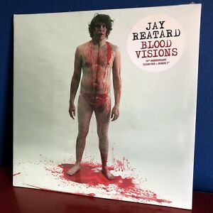 """Jay Reatard Blood Visions Clear Red Colored Vinyl + White 7"""" MINT SEALED RSD"""