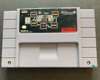Williams Arcade's Greatest Hits Super Nintendo SNES Tested Works Free S&H