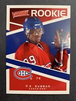 2010-11 Upper Deck Victory Rookie #228 P.K.Subban Montreal Canadiens UD RC