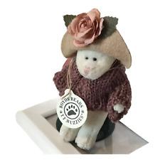 "New ListingBoyds Bears Wuzzies Kitty Cat ""Thomasina F. Wuzzie"" Sweater & Hat Original Tag"